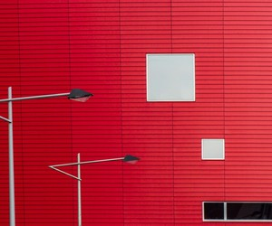photography, red, and red wall image