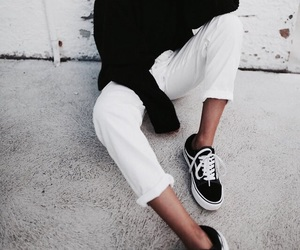 fashion, girl, and vans image