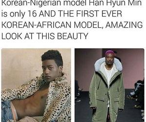 beauty, Lyrics, and model image