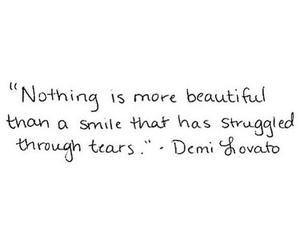 demi lovato, quotes, and smile image