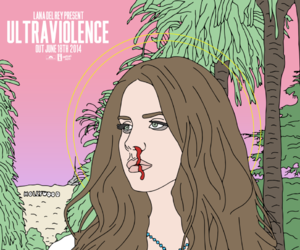 blood, ultraviolence, and lana del ray image