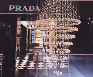 luxury, Prada, and store image