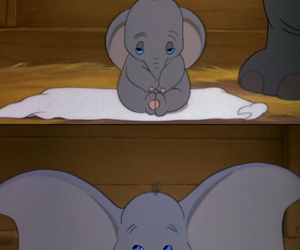 dumbo, elephant, and disney image