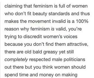 beauty, equality, and feminism image