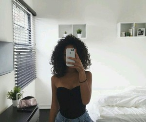 fashion, mirror, and selfie image