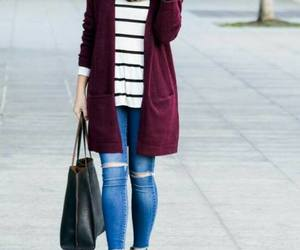 outfit and maroon sweater image
