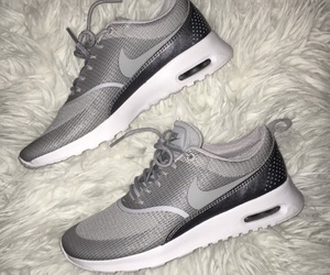 grey, shoes, and nike image