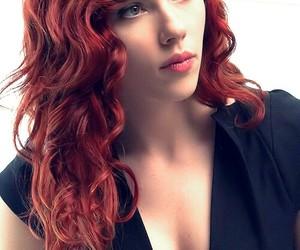 girl and Scarlett Johansson image