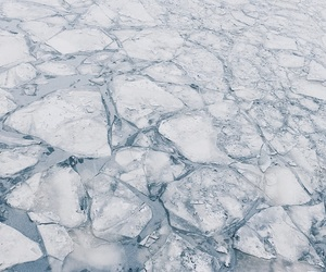 ice, moscow, and river image
