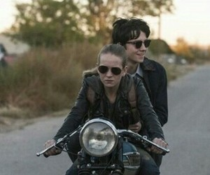 asa butterfield, britt robertson, and the space between us image