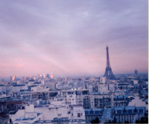 buildings, city, and pink image