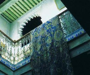 architecture, carpet, and tangier image