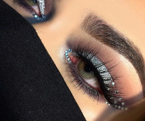 luxury, makeup, and beauty image