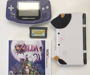 console, gameboy, and games image