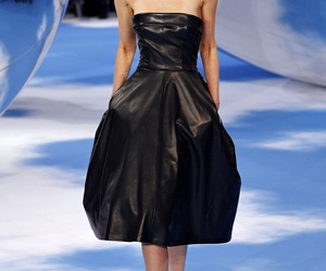Christian Dior, dior, and strapless image