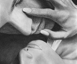arte, love, and blanco y negro image