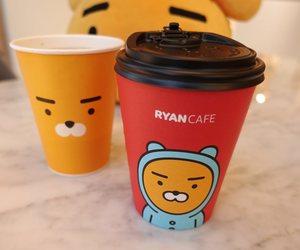 cafe, coffee, and kakao talk image