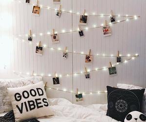lights, room, and good vibes image
