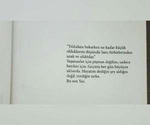 sari, kitap, and yazar image