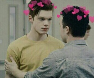shameless, mickey, and ian gallagher image