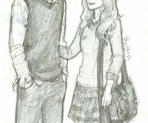 couple, teddy lupin, and art image