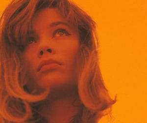 orange, aesthetic, and francoise hardy image