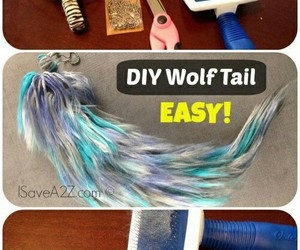 diy, Easy, and wolf image