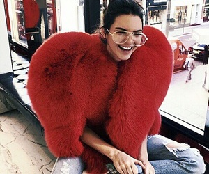 kendall jenner, red, and model image