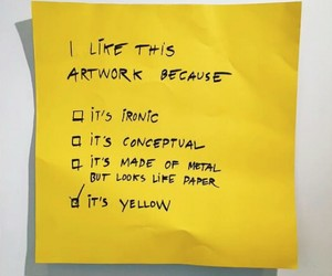 post-it, yellow, and danieke sigalot image