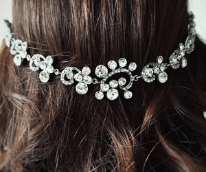 acessories, bridal, and hair image