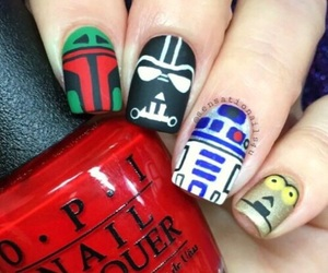 nails and star wars image