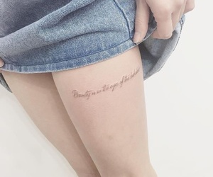 phrase and tattoo image