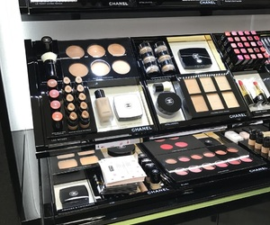addict, makeup, and chanel image