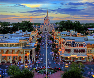 disney, disney world, and magic kingdom image