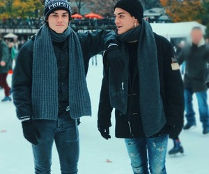 dolan twins, grayson dolan, and ethan dolan image