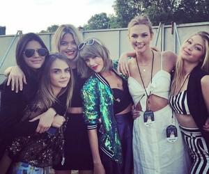 Taylor Swift, gigi hadid, and kendall jenner image
