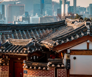 asia, seoul, and south korea image