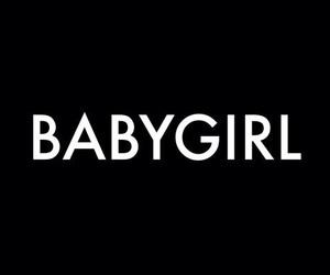 babygirl, black, and baby girl image