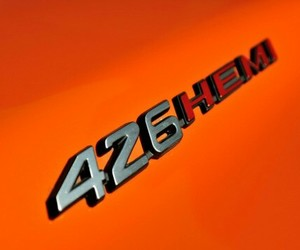 orange, number 425, and hemi challenger rt image