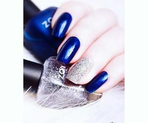 metallic, nail art, and nail polish image