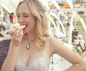 candice king, candice accola, and caroline forbes image