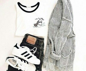adidas, clothes, and clothing image