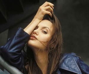 Angelina Jolie, grunge, and beauty image