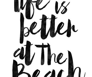 quotes, beach, and summer image