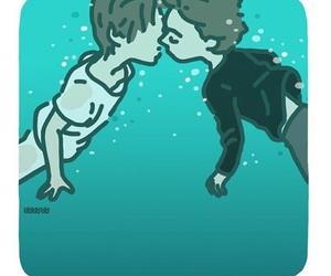 first kiss, skam, and evak image