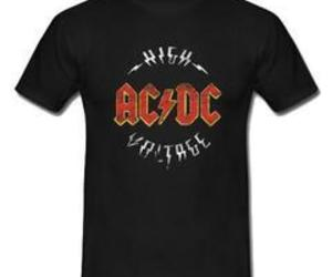 acdc high voltage t-shirt image