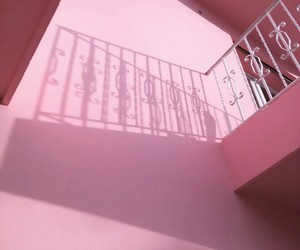 architecture, pink, and vintage image