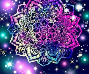 dreams, galaxy, and mandala image