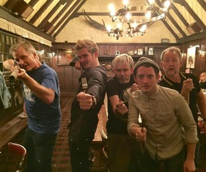 the lord of the rings, cast, and Dominic Monaghan image