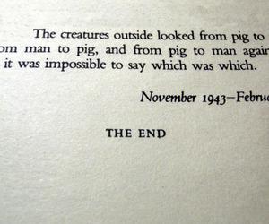 animal farm and George Orwell image